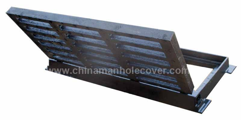 ductile square gully grating
